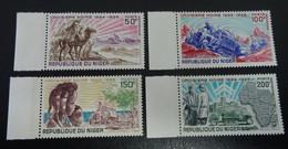 &170A& NIGER, MICHEL 229/232, YVERT 115/118 MNH** - Niger (1960-...)