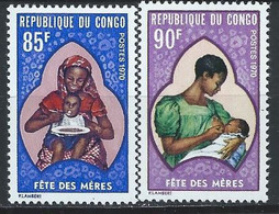 Congo-Brazzaville YT 263-264 Neuf Sans Charnière - XX - MNH - Mint/hinged
