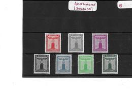 ALLEMAGNE   SERVICE  -  TIMBRES  NEUFS  -  N°  105 / 107 / 108 / 109 / 110 / 112 / 115 - Sonstige