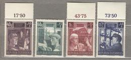 AUSTRIA OSTERREICH Industry 1951 Complete Set  MNH(**) Mi 960-963  #21685 - 1945-60 Neufs