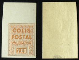 COLIS POSTAUX N° 186-Q ND Neuf N** TB Cote 275€ Signé Calves - Neufs
