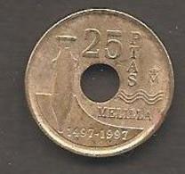 Spagna - Moneta Circolata Da 25 Pesetas Km989 - 1997 - 25 Pesetas