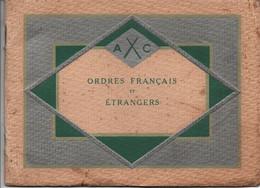 ORDRES FRANCAIS ET ETRANGERS CATALOGUE A. CHOBILLON 1933 DECORATION MEDAILLE - Unclassified