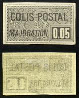 COLIS POSTAUX N° 23 Neuf N* Impression Recto/verso TB Cote 200€ Signé Calves - Neufs