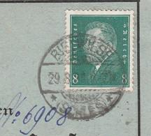 Deutsches Reich Karte Mit Tagesstempel Bielwiese 1929 Schlesien Lk Steinau RB Breslau Schlesien - Lettres & Documents