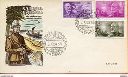 """Maroc;FDC,1er Jour,primer Dia; 1955 """" Sahara Espagnol  """" Pro Infancia """"Morocco;Marruecos - Sahara Espagnol"""