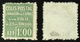 COLIS POSTAUX N° 66 B Neuf N* Cote 100€ Signé Calves - Neufs