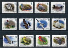 "St. Helena - Mi.Nr. 1219 / 1230 - ""Freimarken: Vögel"" ** / MNH (aus Dem Jahr 2015) - Sainte-Hélène"