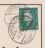 Deutsches Reich Karte Mit Tagesstempel Drygallen 1930 Drigelsdorf Drygaly Kr Johannisburg RB Allenstein Ostpreussen - Lettres & Documents