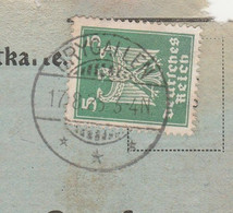 Deutsches Reich Karte Mit Tagesstempel Drygallen 1925 **k Drigelsdorf Drygaly Kr Johannisburg RB Allenstein Ostpreussen - Lettres & Documents