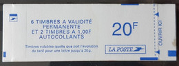 FRANCE / YT Carnet 1510 / MARIANNE DE JUMELET Type 2 / NEUF ** / MNH - Usage Courant