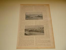 """Origineel Knipsel ( 3463 ) Uit Tijdschrift """" Ons Volk Ontwaakt """" 1914 :  Geraardsbergen - Unclassified"""