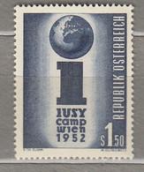 AUSTRIA OSTERREICH  1952 MNH (**) Mi 974  #21707 - 1945-60 Neufs