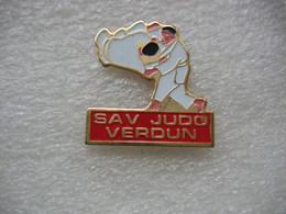 Pin's Du Club SAV Judo Verdun - Judo
