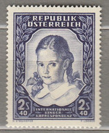 AUSTRIA OSTERREICH  1952 MNH (**) Mi 976  #21708 - 1945-60 Neufs