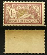 N° 121 1F MERSON Neuf N** TB Cote 110€ Signé Calves - 1900-27 Merson