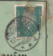 Deutsches Reich Karte Mit Tagesstempel Drossen 1930 Lk Weststernberg Neumark - Lettres & Documents