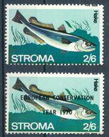 °°° STROMA - PESCI FISH - HAKE - MNH °°° - Local Issues
