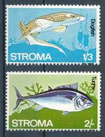 °°° STROMA - PESCI FISH - DOGFISH , TUNNY - MNH °°° - Local Issues