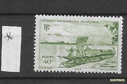 AOF 1947 Local Motives    HINGED - Neufs