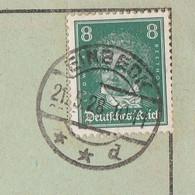Deutsches Reich Karte Mit Tagesstempel Einbeck 1928 Lk Northeim - Lettres & Documents