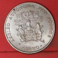 AZORES 100 ESCUDOS 1980 -    KM# 44 - (Nº41057) - Azores