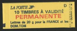 MARIANNE DE BRIAT 10 TP Valeur Permanente N°2806-C1 Cote 28 € Vendu à La Valeur Actuelle D'affranchis (voir Description) - Usage Courant