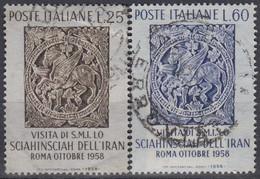 ITALY 1024-1025,used - 1946-60: Gebraucht