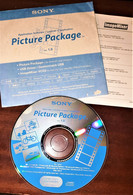 SONY PICTURE PACKAGE APPLICATION SOFTWARE VER.1 - DVD