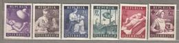 AUSTRIA OSTERREICH Medicine 1954 MNH(**) Mi 999-1004 #21719 - 1945-60 Neufs