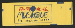 CARNET LIBERTE DE DELACROIX 10 TP à 2,20 Fr Rouge N° 2376-C8 Cote 15 € Vendu à La Valeur Faciale 22 Fr = 3,35 € - Usage Courant