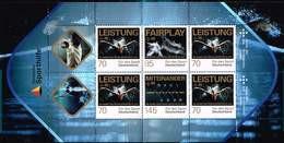 Bund 2017, Michel# MH 106 ** 50 Jahre Deutsche Sporthilfe - Postzegelboekjes