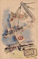 MILITARIA Humoristique   Le Marin-Aviateur Appartient Autant à La Vie Aérienne Qu'à La Vie Maritime - Humour