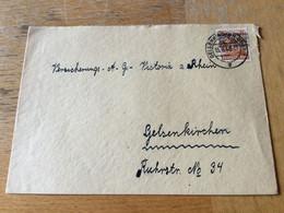 K17 Alliierte Besetzung 1948 Brief Von Gelsenkirchen - Zone Anglo-Américaine
