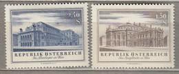 AUSTRIA OSTERREICH 1955 MNH(**) Mi 1020-1021 #21731 - 1945-60 Neufs