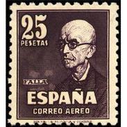 ES1015CF-LFT**1015STAN.España.Spain.Musico,compositor.MANUEL DE FALLA.1947. (Ed 1015*) - 1931-50 Neufs