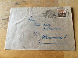 K17 Alliierte Besetzung 1948 Brief Von Kiel Mwst. Zoo Hamburg - Zone Anglo-Américaine