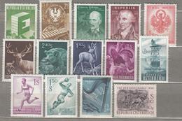 AUSTRIA OSTERREICH 1959 MNH(**) Stamps #21748 - 1945-60 Neufs