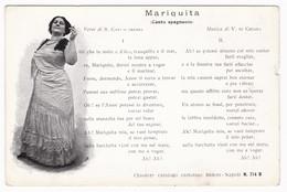 TEATRO Varietà MARIQUITA Attori Di Napoli Pro Mutilati Ischia - Theatre