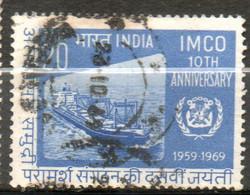 INDE Bateau Citerne  1969 N° 284 - Gebraucht