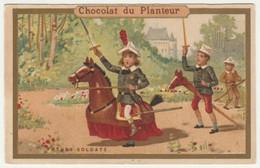 CHROMO CHOCOLAT DU PLANTEUR    FUTURS SOLDATS - Andere