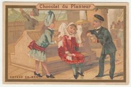 CHROMO CHOCOLAT DU PLANTEUR    VOYAGE EN MER - Andere