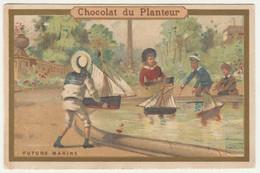 CHROMO CHOCOLAT DU PLANTEUR    FUTURE MARINE - Andere