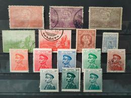 SERBIE - 1900/1918 Lot De 15 Timbres * / O (voir Détail Et Scan) - Serbien