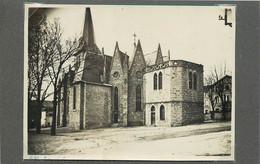 LA SEAUVE SUR SEMENE (Haute-Loire) - L'église (photo Années 30, Format 11,3cm X 8,4cm) - Luoghi