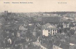 Bruxelles - Panorama - Ste Gudule - Parc - Brussels (City)