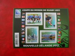 FRANCE YT F4576 COUPE DU MONDE DE RUGBY** - Neufs