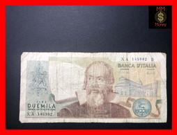 "ITALY 2000  2.000 Lire  8.10.1973  P. 103  ""replacement Serie XA""  Prefix B    Fine  *scarce Note*    [MM-Money] - 2000 Lire"