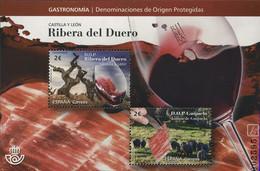 Espagne España 4992/93 Vin, Vignes, Raisin, Jambon - Alimentación