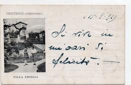 GENTRINO - CERNOBBIO - VILLA ERSILIA - COMO - VIAGGIATA - Como